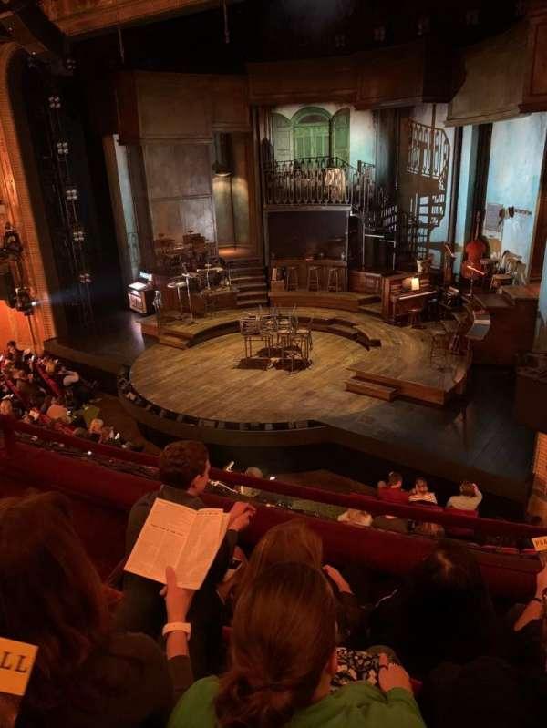 Walter Kerr Theatre, section: Mezzanine R, row: C, seat: 16
