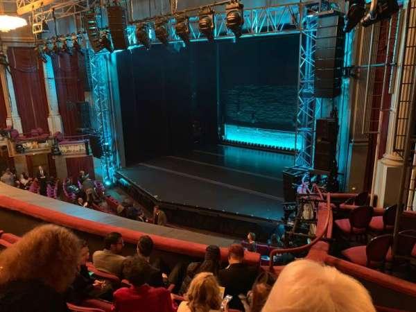 Broadhurst Theatre, section: Mezzanine R, row: E, seat: 26