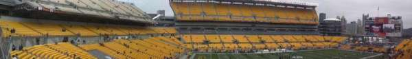Heinz Field, section: 231, row: A, seat: 15-18