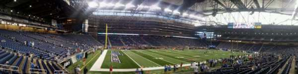 Ford Field, section: 123, row: 14, seat: 1-2