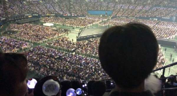 Kyocera Dome, section: 1 Base Upper, row: 14 , seat: 492