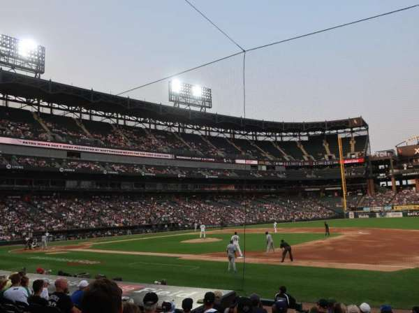 Guaranteed Rate Field, section: 121, row: 12, seat: 1