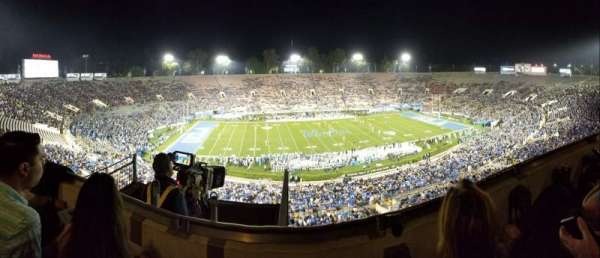 Rose Bowl, section: Club E208, row: B, seat: 7