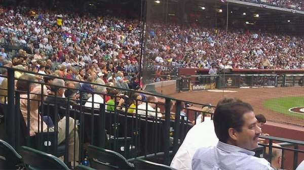 Minute Maid Park, section: 122, row: 8, seat: 5