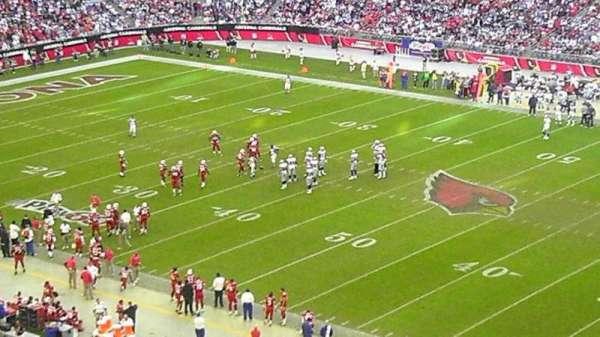 State Farm Stadium, section: 407, row: b, seat: 21
