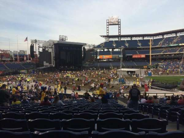 Citizens Bank Park, section: 133, row: 33, seat: 2