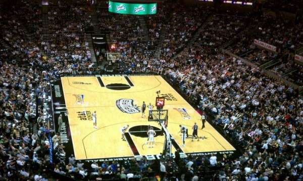 AT&T Center, section: 201, row: 1, seat: 12