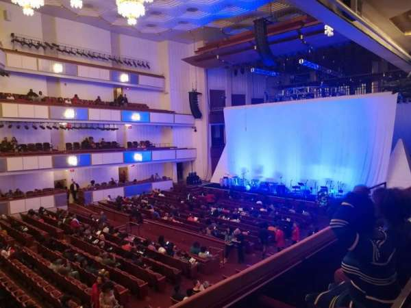 The Kennedy Center Concert Hall, section: Box Tier, row: 32, seat: 1