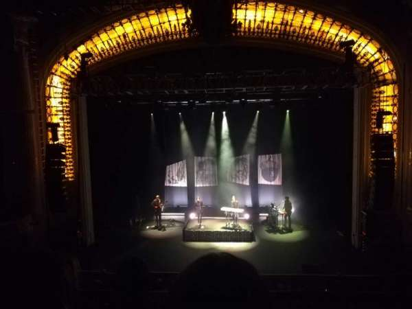 Orpheum Theatre (Boston), section: Mezzanine C, row: C, seat: 206