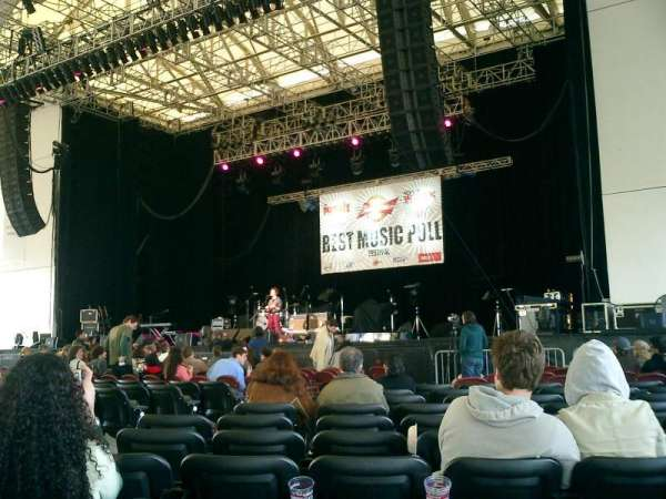 Rockland Trust Bank Pavilion, section: 1, row: S, seat: 15
