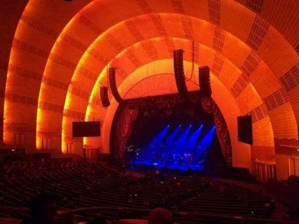 Radio City Music Hall, section: 1st Mezzanine 1, row: B, seat: 101
