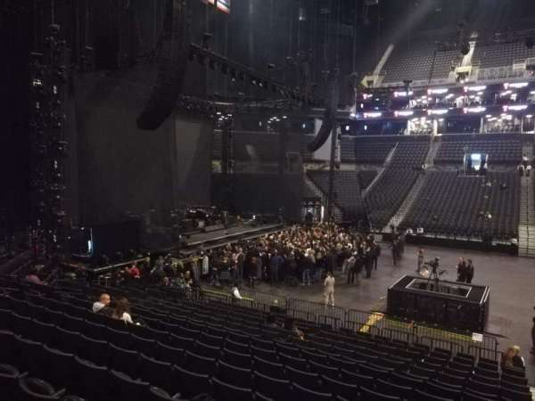 Barclays Center, section: 24, row: 16, seat: 1