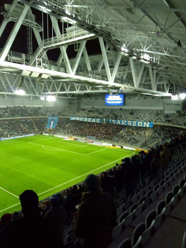 Tele2 arena, section: 306, row: 19, seat: 257