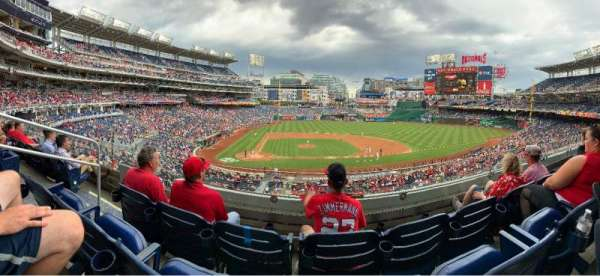 Nationals Park, section: 218, row: C, seat: 18
