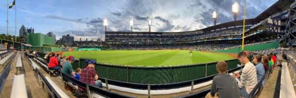 PNC Park, section: 136, row: C, seat: 18