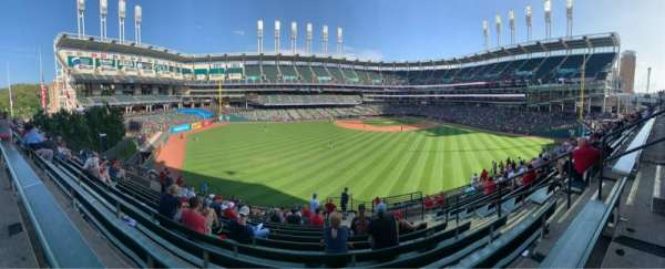 Progressive Field, section: 184, row: Q, seat: 4