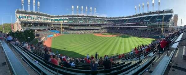 Progressive Field, section: 184, row: Q, seat: 4