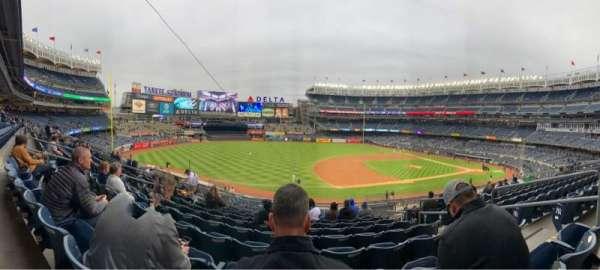 Yankee Stadium, section: 227A, row: 10, seat: 5