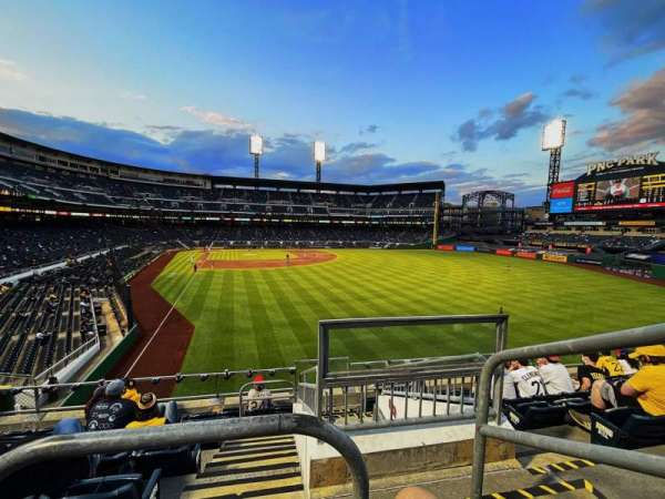 PNC Park, section: 145, row: G, seat: 1