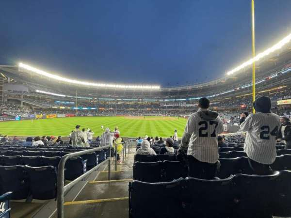 Yankee Stadium, section: 134, row: 15, seat: 19