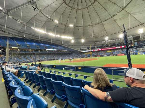 Tropicana Field, section: 126, row: K, seat: 10