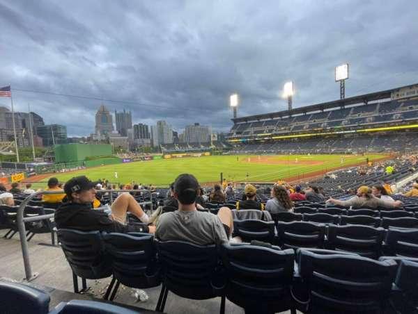 PNC Park, section: 130, row: U, seat: 21