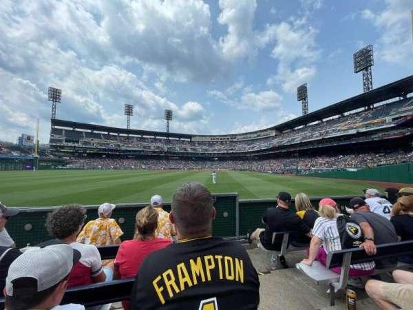 PNC Park, section: 137, row: D, seat: 1