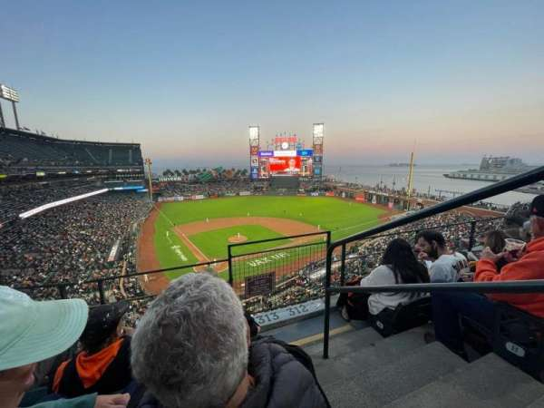 Oracle Park, section: VB313, row: 3, seat: 1