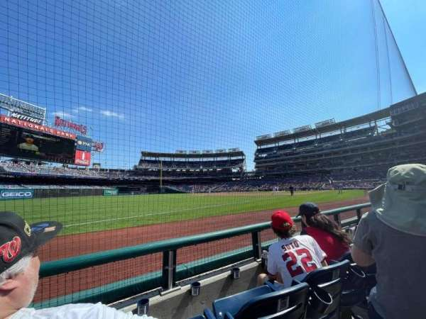 Nationals Park, section: 111, row: B, seat: 15