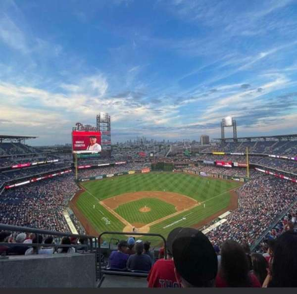 Citizens Bank Park, section: 419, row: 8, seat: 25