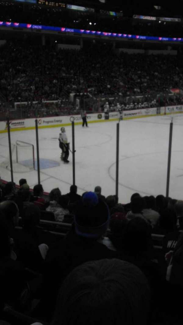 PNC Arena, section: 122, row: K, seat: 14