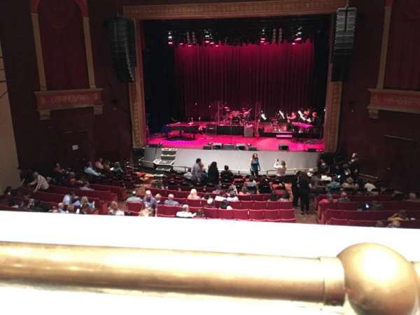 Bergen Performing Arts Center, section: Mezzanine C, row: A, seat: 110
