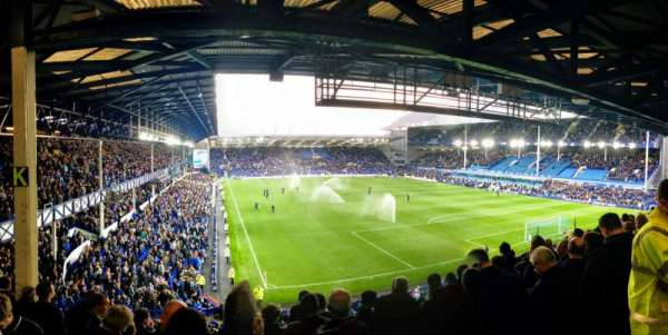 Goodison Park, section: GS4, row: H, seat: 186