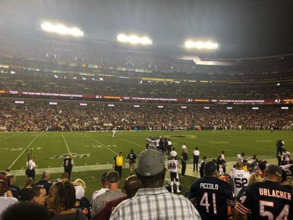 FedEx Field, section: 124, row: 6, seat: 1