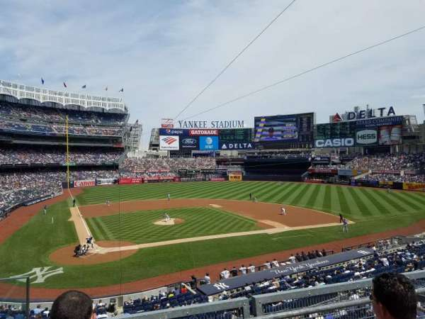 Yankee Stadium, section: 218B, row: 3, seat: 12