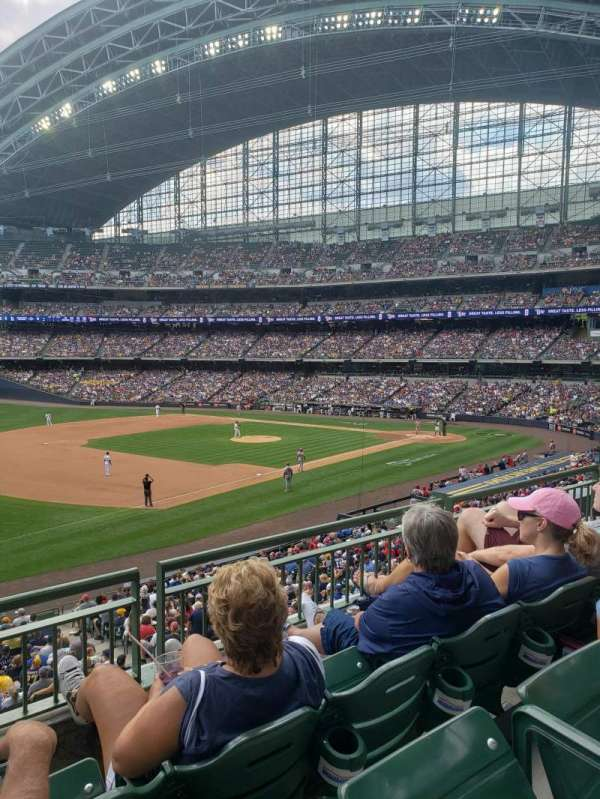 American Family Field, section: 228, row: 3, seat: 11