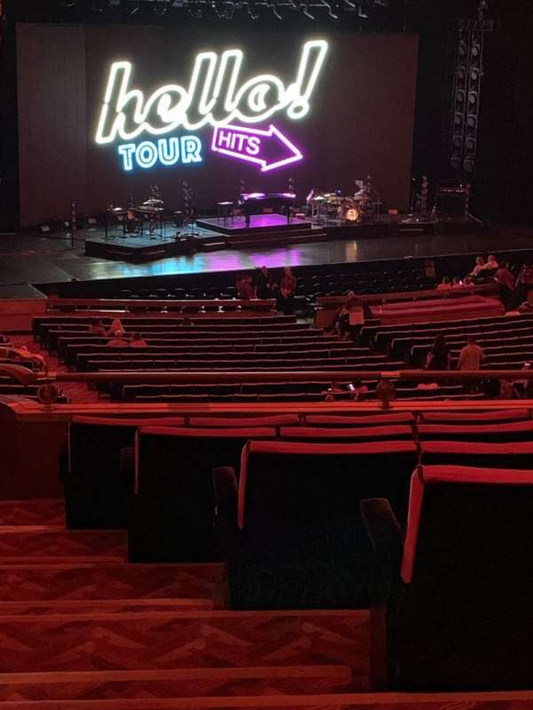 Radio City Music Hall, section: 1st Mezzanine 7, row: G, seat: 701