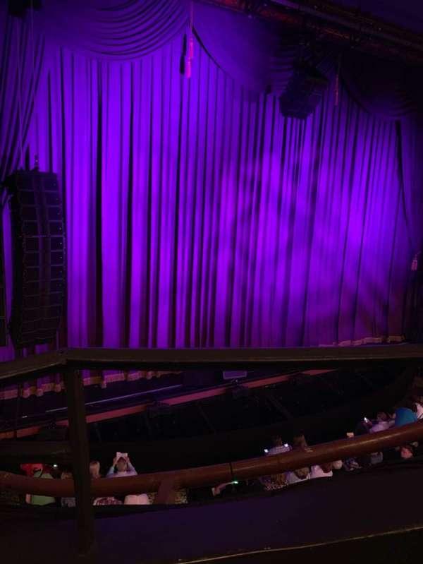Lunt-Fontanne Theatre, section: Front Mezzanine L, row: A, seat: 9