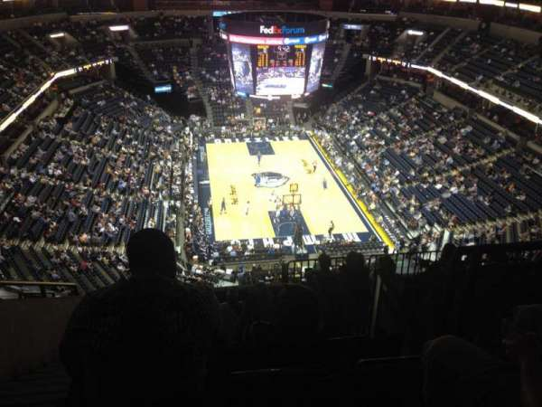 FedEx Forum, section: 216, row: N, seat: 17