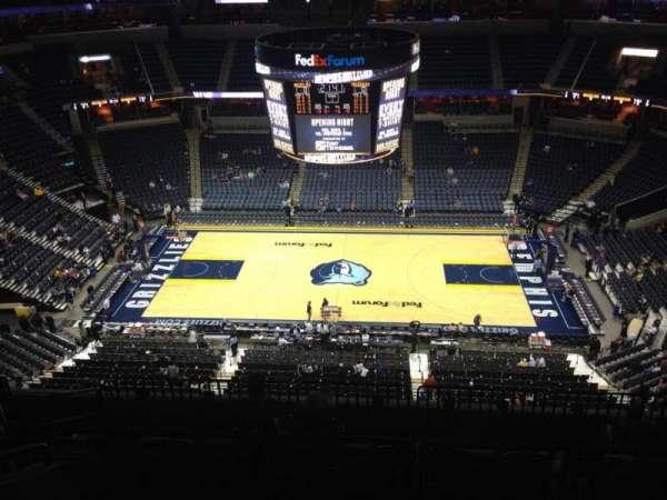 Fedex Forum Section 209 Home Of Memphis Grizzlies Memphis Tigers