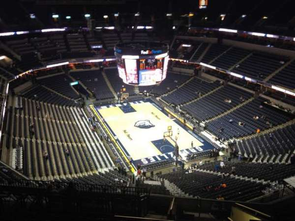FedEx Forum, section: 230, row: N, seat: 1
