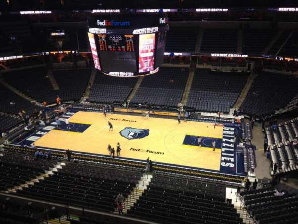 FedEx Forum, section: 226, row: B, seat: 12
