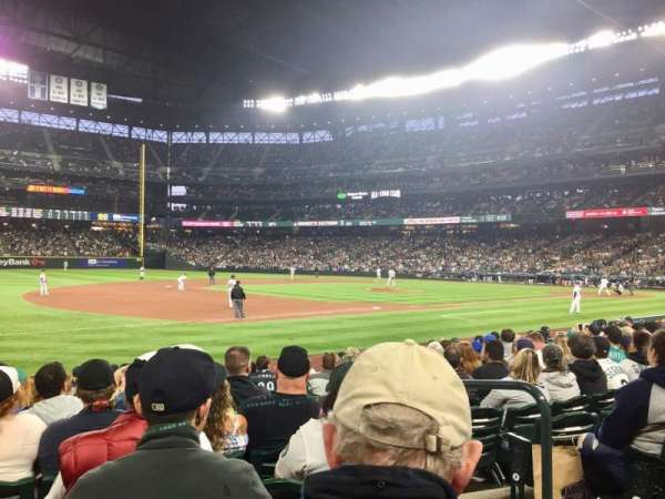 T-Mobile Park, section: 142, row: 12, seat: 4