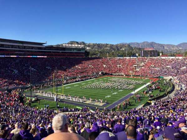 Rose Bowl, section: 28-L, row: 72, seat: 35