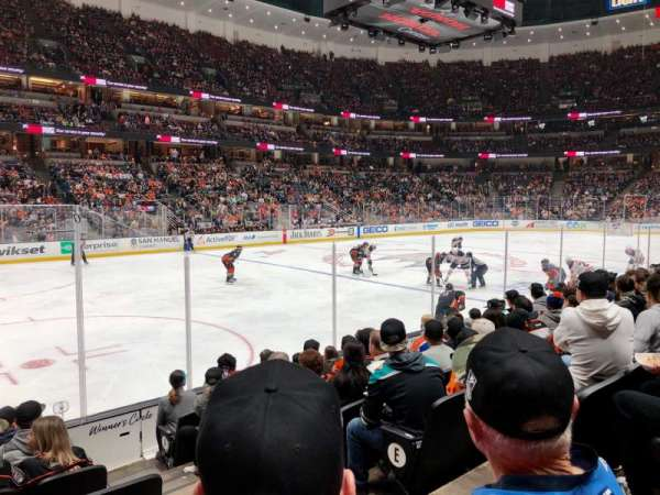 Honda Center, section: 225, row: H, seat: 3