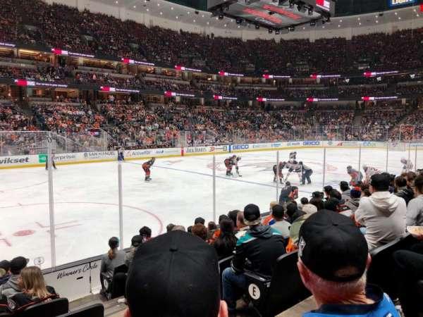 Honda Center, section: 225, row: H, seat: 3