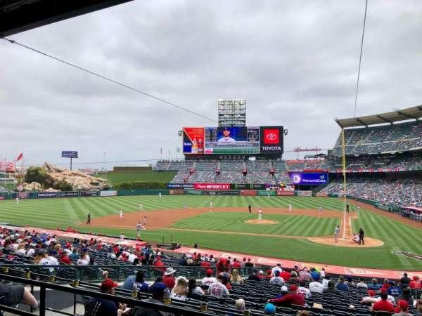 Angel Stadium, section: 213, row: C, seat: 11
