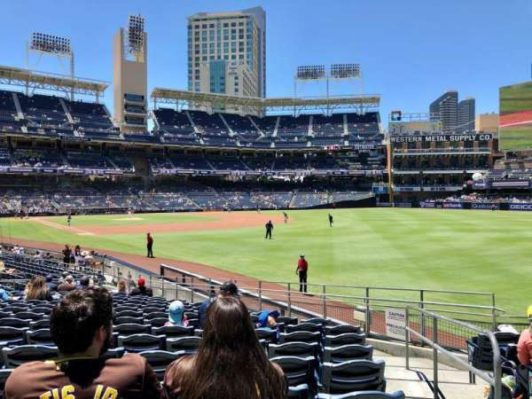 PETCO Park, section: 121, row: 25, seat: 24