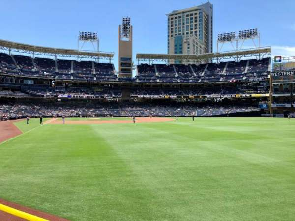 PETCO Park, section: 125, row: 18, seat: 18