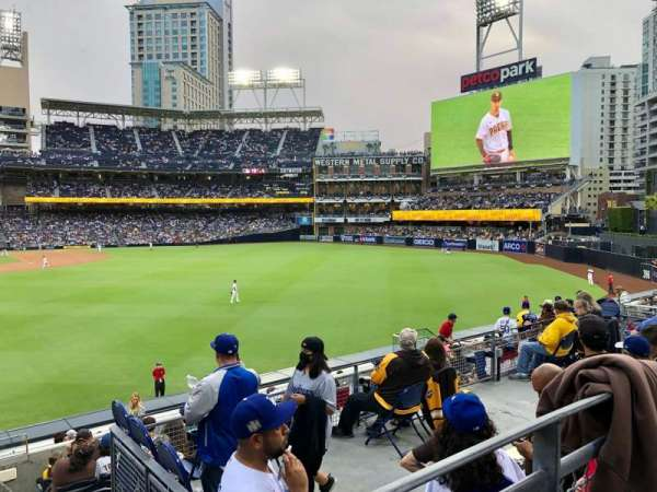 PETCO Park, section: 131, row: 7, seat: 3
